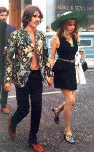 George Harrison ve nedimesi Pattie Hanfendi